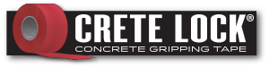 CreteLock (TM) Concrete Gripping Tape available from your Yellow Guard sales representative.